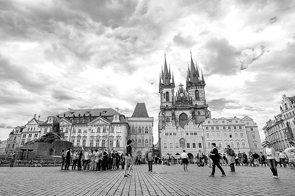 Czech Prague Old Town Square